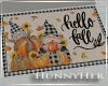 H. Hello Fall Small Mat