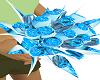 bouquet de maraige bleu