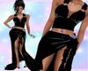 Blck Velvet e Gown