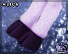 Lavender Faun Legs