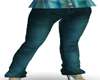 *BG* Teal Lev-eye Jeans