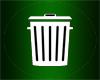 (Ani.)Trash Can (Green)