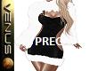 ~V~Xmas Dress PREG  B/W