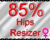 *M* Hips Resizer 85%