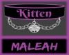 Kitten Collar: Purple