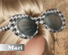 !M! Houndstooth Glasses