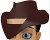 **SA71**DAAARK Brown hat