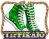 Green High Tops