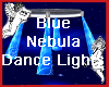 Blue Nebula Dance Lights