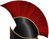 Black Red Spartan Helm