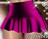 Mini Skirt Mauve L