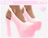 ♔ Heels e B.Pink