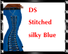 DS Silky Stitched blue