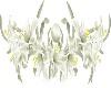 White Lilies purl border