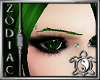 Zodiacs Green eyebrows