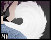 M! Puppy tail | white