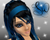[SW] Black/Blue Kamilla