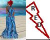 Valentine BlueSheer Gown