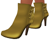 Gold Mina Ankle Boots