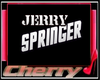 Jerry Springer Wall Sign