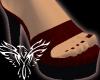 Platform Crimson Heels