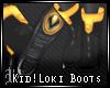 Kid!Loki Boots