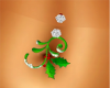 MistleToe belly ring