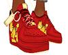 ✖ Garfield red shoe