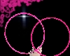 Rave hoops: pink m/f