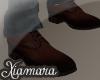 [X] Brown Classic Shoe