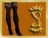 EB]Velvet Dragon Boots
