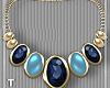 Multi Blue Necklace