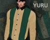 YURU beige stripe shirts