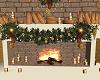 Golden Christmas Garland