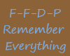 ffdp remember everything