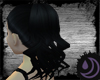Black Curly Pony-Tail