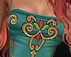 Boho Silk Dress (M)