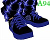 [A94] blue rays sneakers