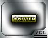 Kitten Tag