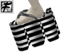 ~F~Huge Striped BW shoes