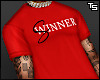 """Winner/Sinner"" T-Shirt."