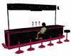 pink blk glitter bar