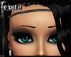 *F* Hairband Black/Slvr