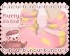 (/ ' u ')/ Fluffy Socks