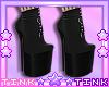 Black - Purple Boots