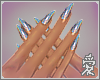 Si. Holographic nails