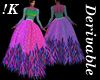 !K! Delure Feather Gown1