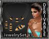 Gemstone Jewelry Set V1