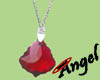 [Angel]Ruby necklace