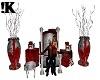 !K!Crimson Santa Throne